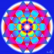 Enlarge Hexagonal star Photo