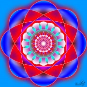 Enlarge Flower mandala Photo