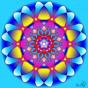 Enlarge Blue wheel Photo