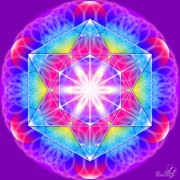 Enlarge Metatron mandala Photo