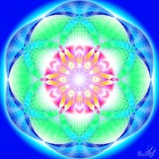 Enlarge Chakra with six petals Photo