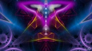 Enlarge Angel in Space Photo