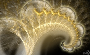 Enlarge Cosmic Spiral Photo