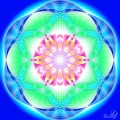 Chakra with six petals