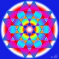Hexagonal star