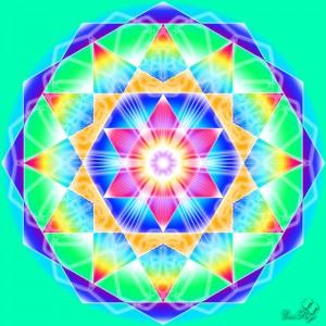 Hexagonul - simbolul creatiei si al manifestarii