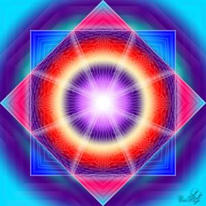 Rombul - simbolul unificarii materiei cu spiritul
