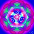 Triskelionul - simbolul trinitatii primordiale