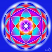 Enlarge Mandala creata pe sase Photo