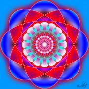 Enlarge Mandala floare Photo