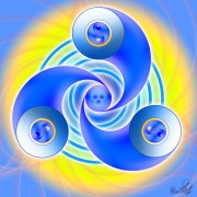 Enlarge Vortex yin-yang Photo