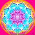 Mandala creata pe noua
