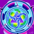 Triunghi violet